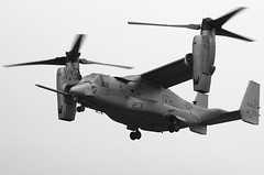 helicopter rotor(0.0), helicopter(0.0), military helicopter(0.0), aircraft(1.0), tiltrotor(1.0), aviation(1.0), rotorcraft(1.0), bell boeing v-22 osprey(1.0), vehicle(1.0), air force(1.0),