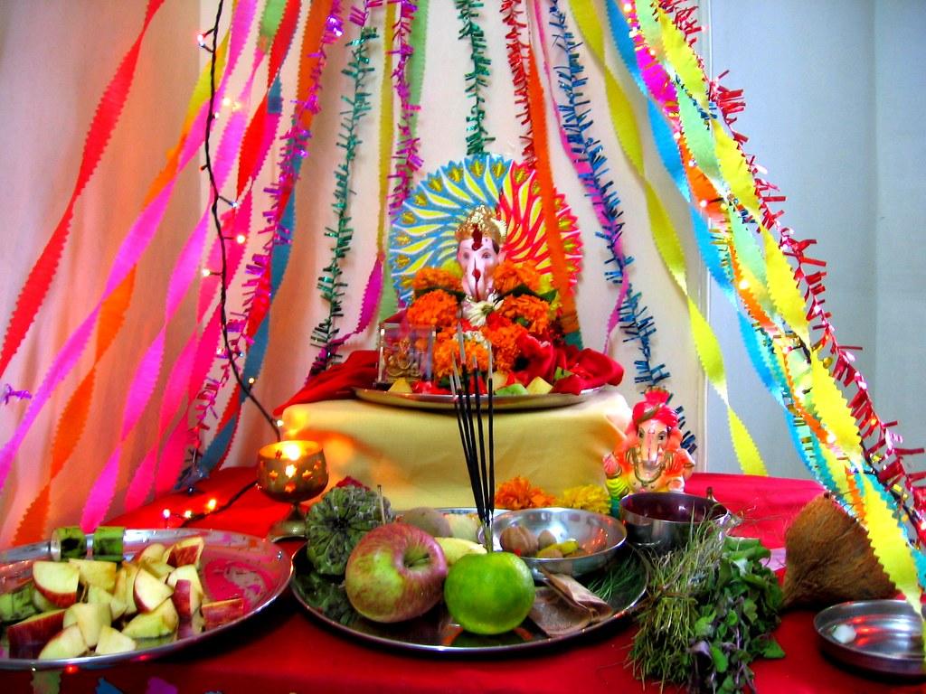 Ganpati Decoration | I Did All The Decoration :) | Kaustubh Patil | Flickr
