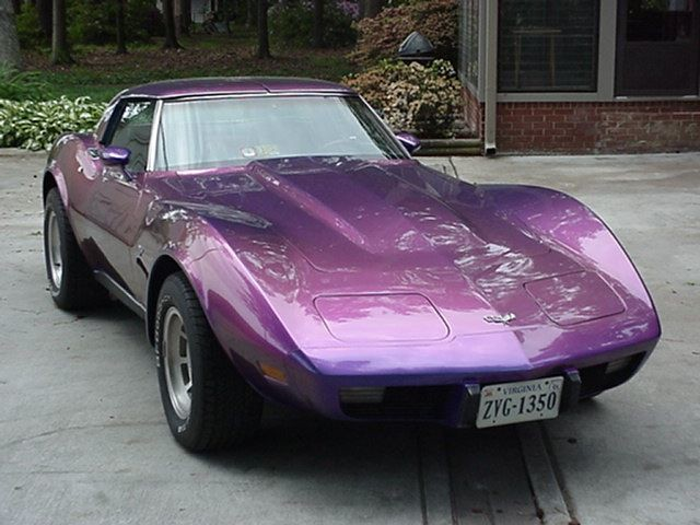 Chevy Corvette Stingray car | I LOVE this customer color ...