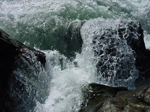 nature water landscape waterfall washington rocks spray moultenfalls