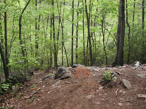 rock garden trails bikes singletrack