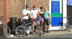 Bike ride in aid of Historic Churches