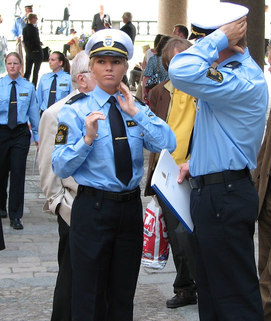 Swedish Blonde Police Flickr Photo Sharing