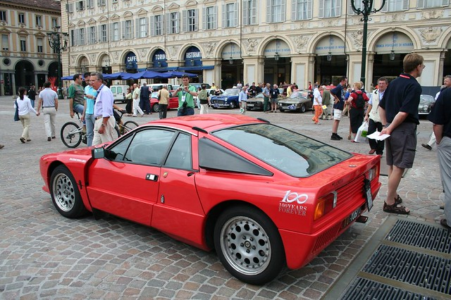 Lancia CENTENARY Celebrations  TORINO Turin 100 year Piazza San Carlo 100th Lancia 037 IMG_7716