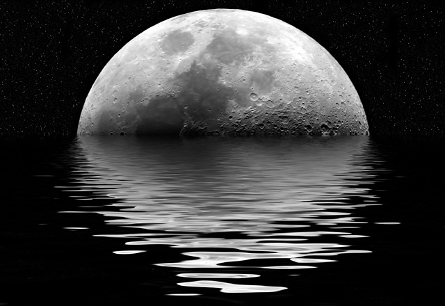 Moon Rise por Mark Bond