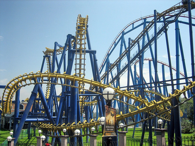 Batman the ride six flags