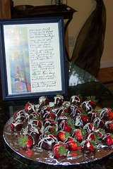 Chocolate covered strawberries by Skai