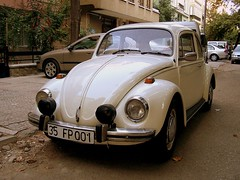 automobile, volkswagen beetle, vehicle, automotive design, mid-size car, city car, compact car, volkswagen type 14a, antique car, vintage car, land vehicle,