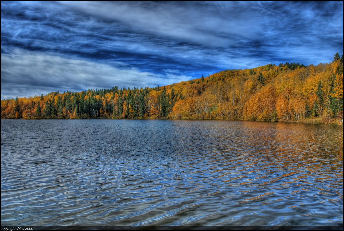 Autumn Lake HDR