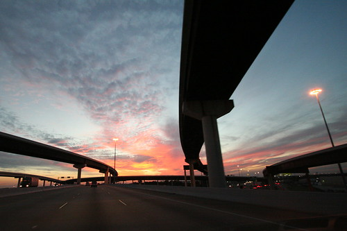 Sunset in Houston (Credit: eschipul on Flickr.com)