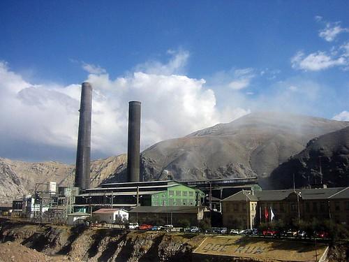 Mine in La Oroya, Peru