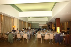 meal(0.0), function hall(0.0), restaurant(0.0), ballroom(0.0), auditorium(0.0), banquet(1.0), interior design(1.0), conference hall(1.0), cafeteria(1.0), convention center(1.0), meeting(1.0),