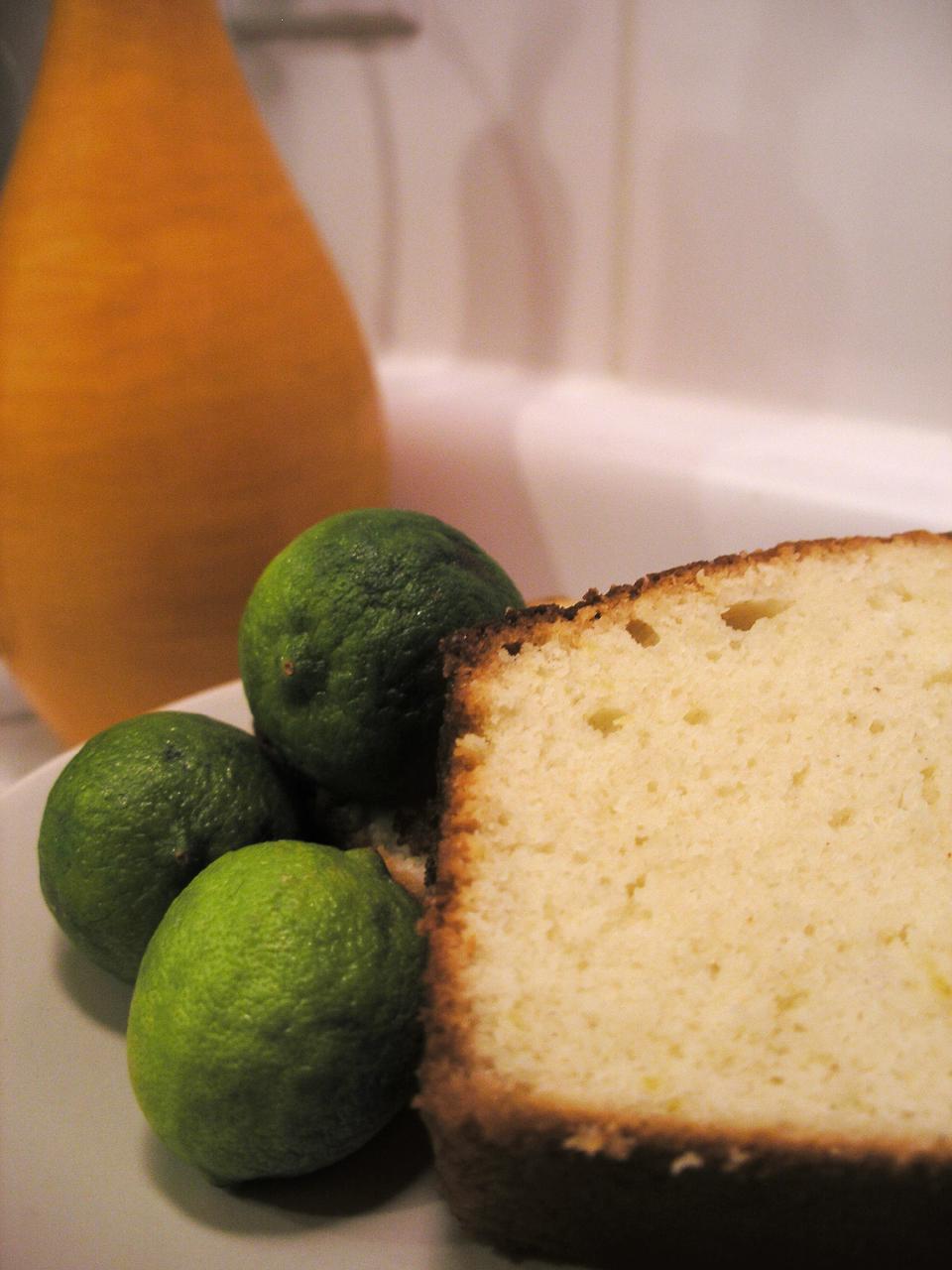 Key Lime Pound Cake Using Cake Mix