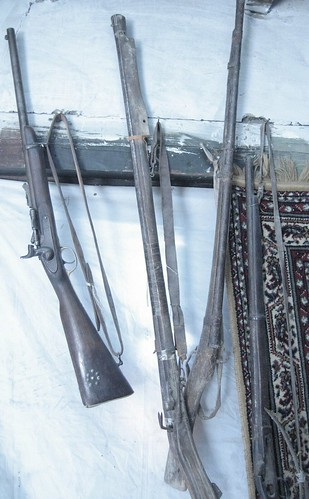 (Antique) guns for sale, Karimabad