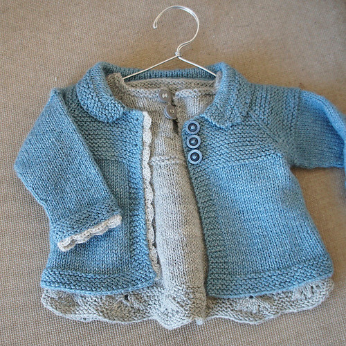Adorable jacket for a baby girl - Charlee Baby Girl Jacket/Coat by Lotta Arnlund