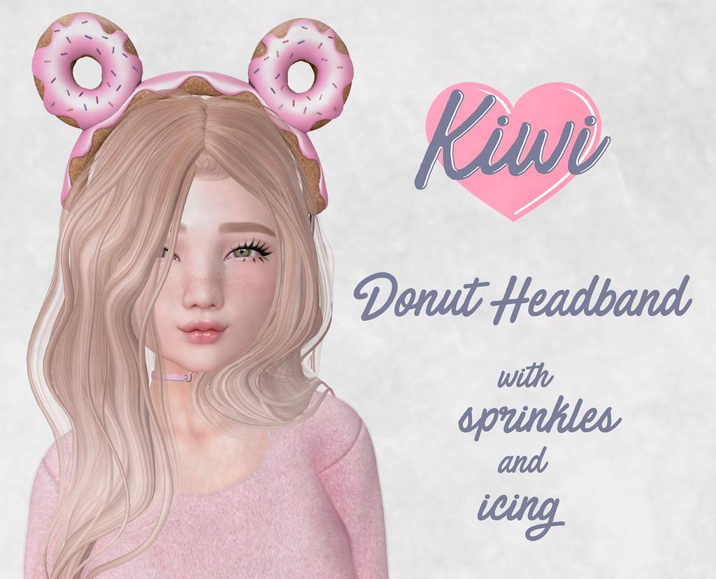 kiwi / Donut Headband - TeleportHub.com Live!