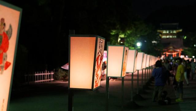 鎌倉ぼんぼり祭り'18-13
