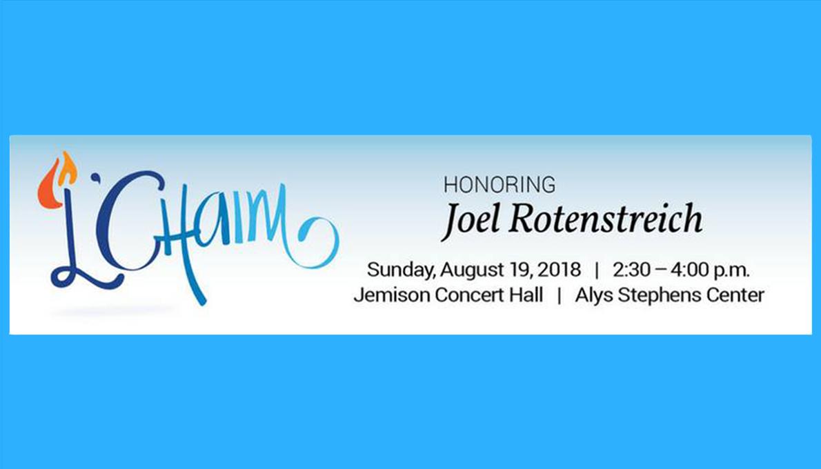 L'Chaim 2018 honoring Joel Rotenstreich