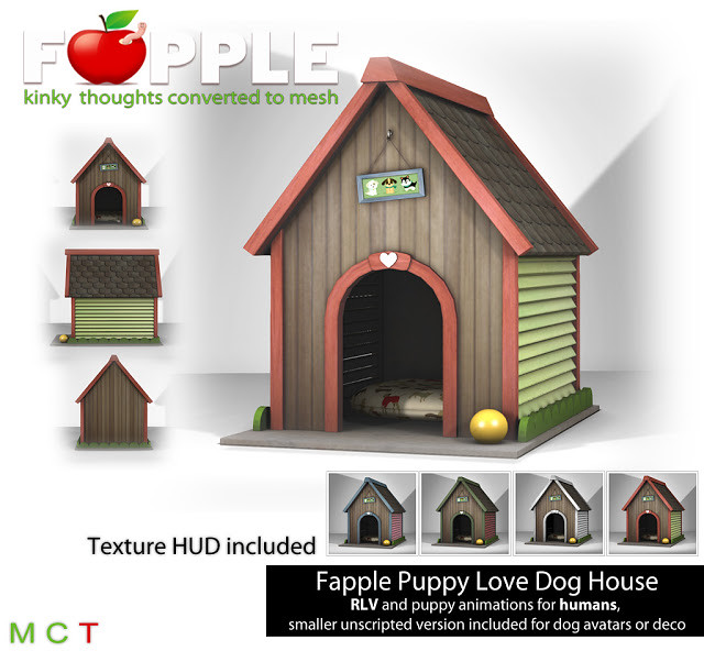 Fapple – Puppy Love – Dog House