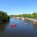 River Dee from the suspension bridge, 2018 Jul 08