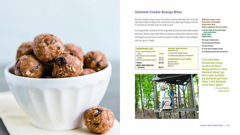 Oatmeal Cookie Energy Bites recipe