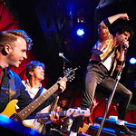 Tue, 26/06/2018 - 5:10pm - Low Cut Connie's crazy fun FUV Live set on WFUV from Rockwood Music Hall, 6/28/18. Hosted by Paul Cavalconte. Photo by Gus Philippas/WFUV