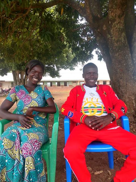 Nancy Okot and Ivan Olanya