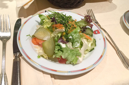 Mixed salad / Gemischter Salat - Hotel Lamm - Heimbuchenthal