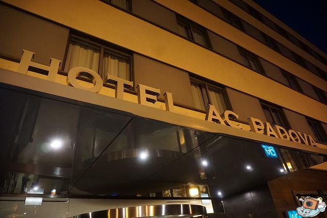 義法13日(HOTEL AC PADOVA)