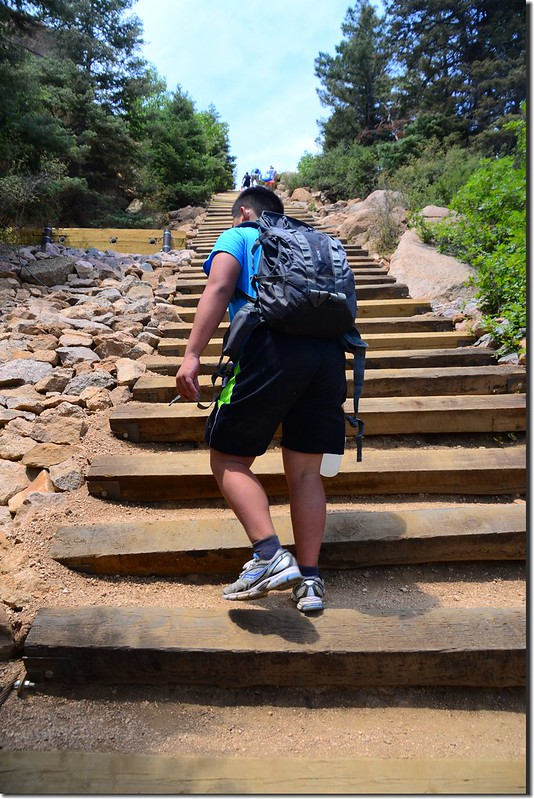 Jacob on his way up to the top of the incline (6)