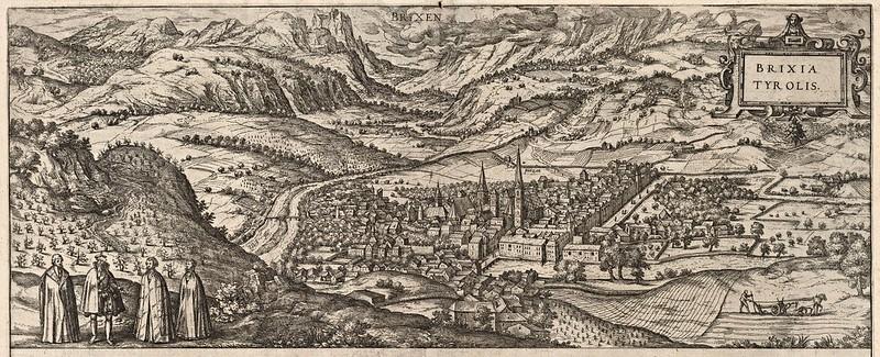 Georg Braun & Franz Hogenberg - Brixen (Bressanone) (1588)