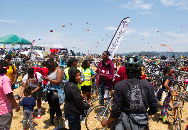 Rich City Rides at the Berkeley Kite Festival