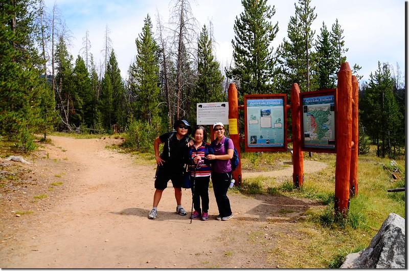 Columbine Lake Trailhead 2