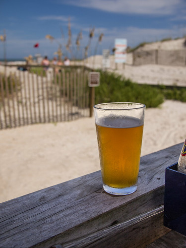IPA at the beach