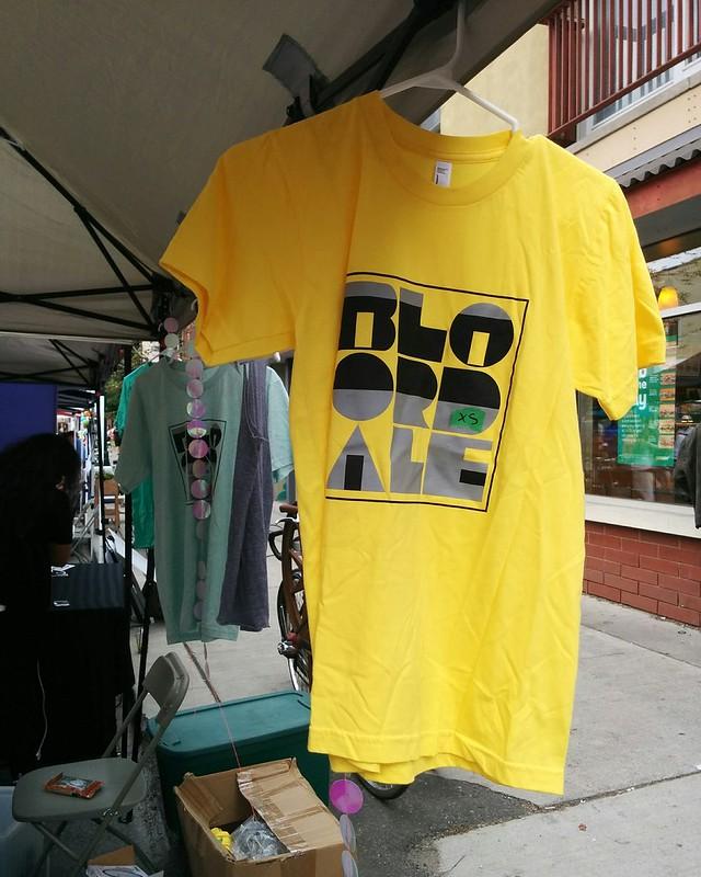 Bloordale T-shirt #toronto #bloordale #bloorstreetwest #bigonbloor #streetfestival #shirt #latergram