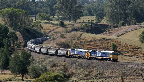 8124 & 8125 LEADING PN #6422 SUGAR AND CEMENT NEAR CRAVEN 25th July 2018.