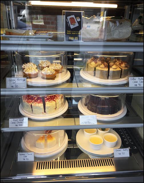 Cakes at Bukit Cuppa