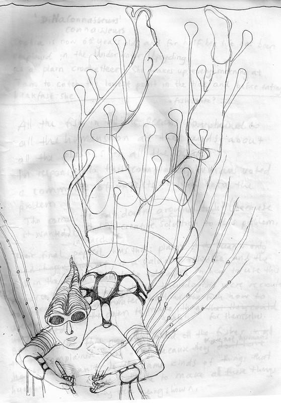 Underwater Studio Practice sketches