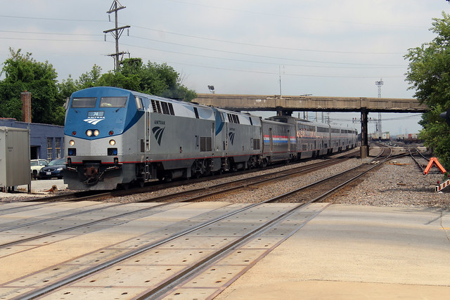 Amtrak 74 Train 5, Canon EOS REBEL T6, Canon EF-S 18-55mm f/3.5-5.6 IS II
