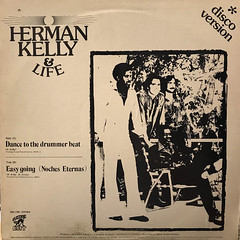 HERMAN KELLY & LIFE:DANCE TO THE DRUMMER BEAT(JACKET A)