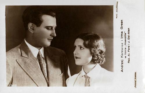 Andrzej Karewicz and Irma Green in Mascotte (1930)