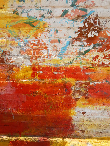 UNESCO Heritage Site Xochimilco with its bright walls abstract