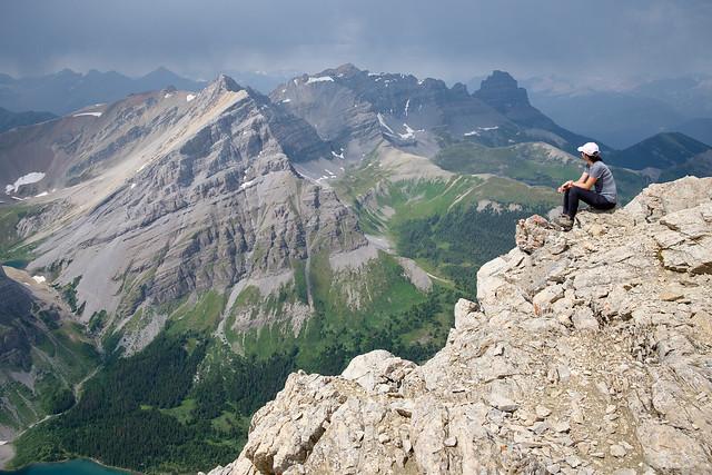 Scrambles - Mt. Bourgeau-12