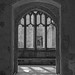 Lacock Abbey window