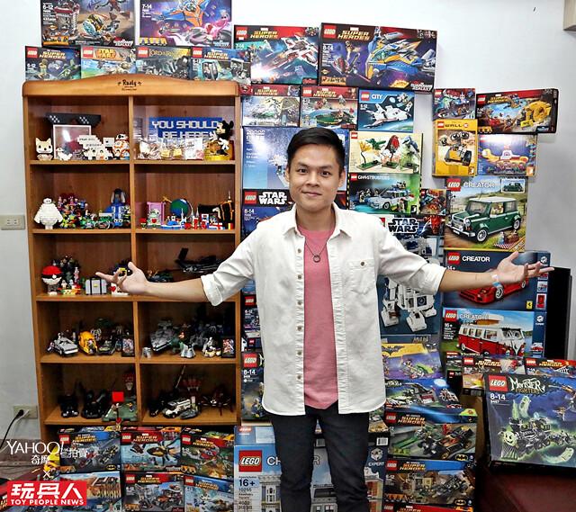 用一塊塊積木堆砌出價值與夢想:LEGO 台灣創意競賽冠軍Will - 《Yahoo 奇摩拍賣 × 玩具人:大人味玩具》