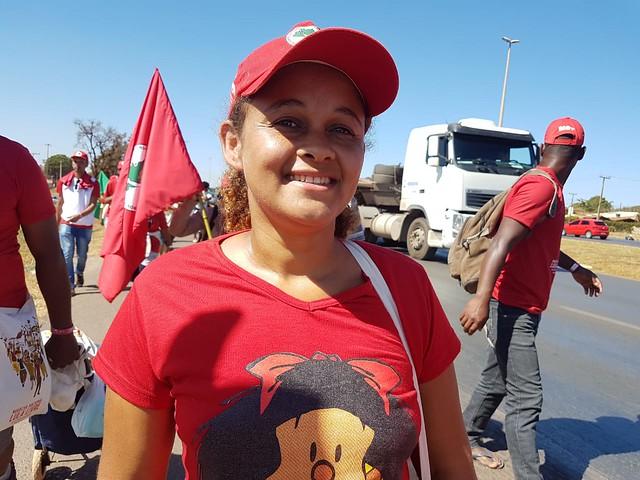 """Eliene dos Santos: """"Me apaixonei pela luta, cresci nesse movimento"""""""