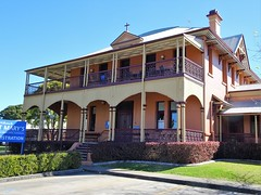 Maryborough. The Catholic convent built in 1892. Now the administration offices of St Marys Catholic School.