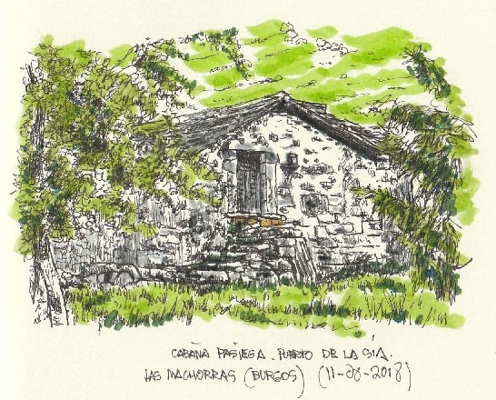 Las Machorras (Burgos). Cabaña Pasiega