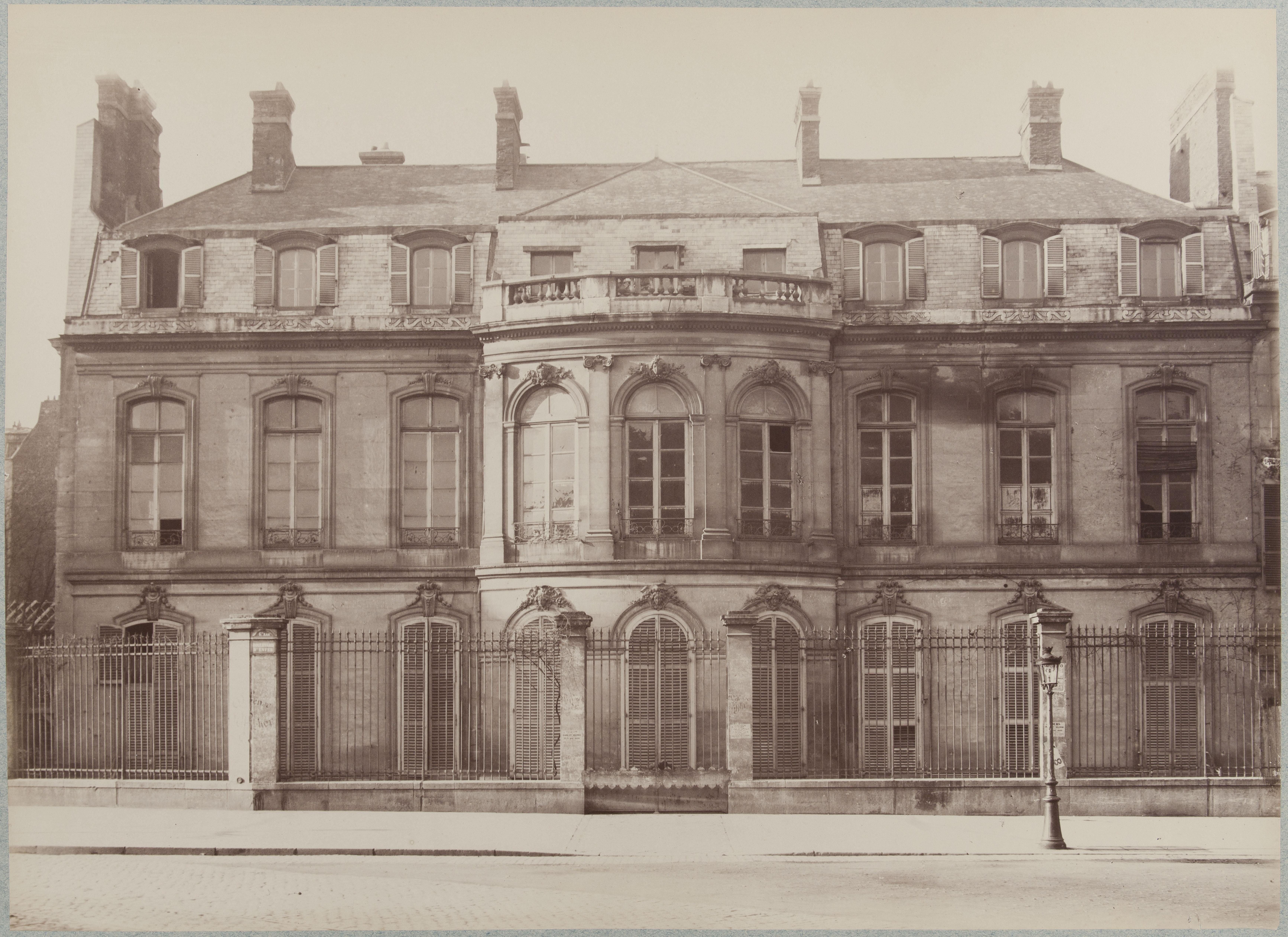 Hotel de la Guiche, улица де Ренн 112