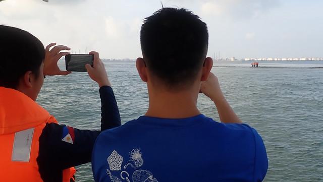 Leaving Cyrene at high tide